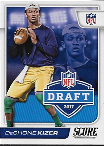 2017 Score NFL Draft #4 DeShone Kizer Notre Dame Fighting Irish Rookie RC Football Trading Card made by ()