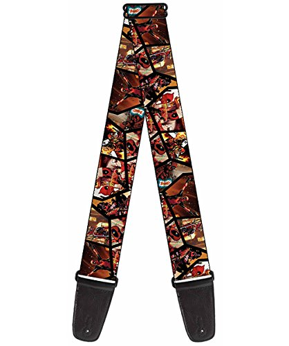 Buckle-Down GS-WDP033 Marvel Universe Guitar Strap -
