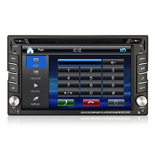 car dvd gps sat navigation head unit auto radio for. Black Bedroom Furniture Sets. Home Design Ideas