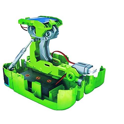 Solar Toys-Bessky® New Creative DIY Assemble Educational Solar Transformers Robot Kit Toy Popular Science Toys Children