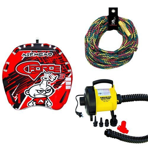 Airhead G-Force 3 Rope and Pump Bundle Airhead G-force Towable