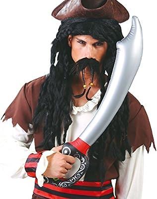 FIESTAS GUIRCA Espada Sable de Pirata Inflable 70 cm: Amazon.es ...