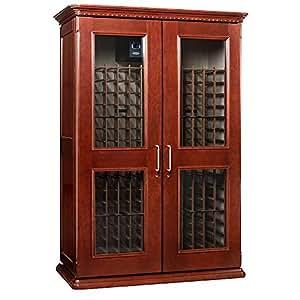 Le Cache Euro 3800 Wine Cabinet - Classic Cherry finish