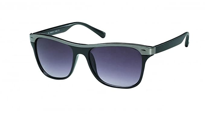 Sonnenbrille Designer Retro Nerdbrille Metallkante Brille getönt 400 UV unisex L7TQ5BS