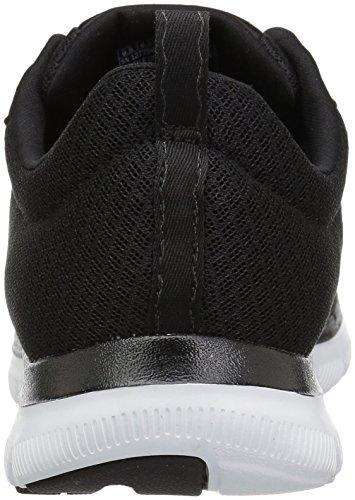 Skechers Kvinders Flex Appeal2.0-newsmaker Sneaker Sort Med Hvid Trim 6Ucb7bRwMf