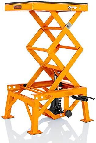 ConStands Hubst/änder Orange f/ür Honda CRF 100//125 F CRM 450 R Hydraulisch Moto-Cross XL CRF 250 L
