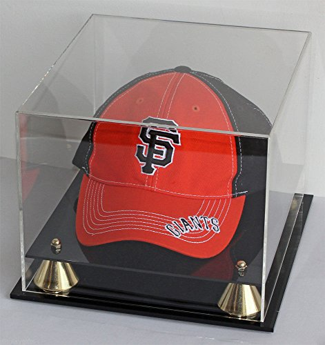 Acrylic Baseball Cap / Hat Display Case Stand Uv Protection by Display Case