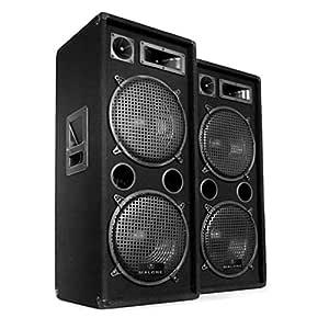 Electronic-Star DJ-20.1 Completo Set para Eventos DJ: Amazon ...