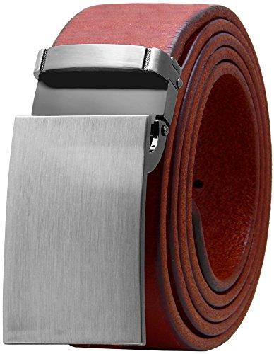 Falari Men's Dress Belt Jeans Belt Full Grain Genuine Leather Variety Colors 9026