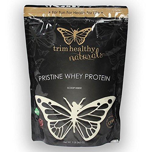 Trim Healthy Mama Pristine Whey Protein Powder 1 lb (453 grams) Pkg