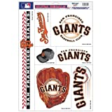 "MLB San Francisco Giants 08914051 Multi Use Decal, 11"" x 17"""