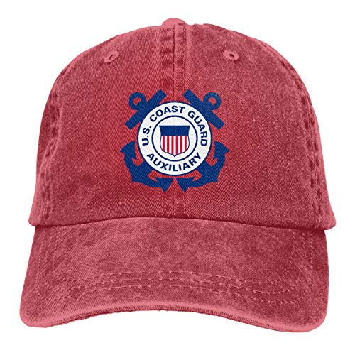 CoolTlong United States Coast Guard Auxiliary Men's Women Fashionable Hats Classical Hat - Coast Guard United Auxiliary States