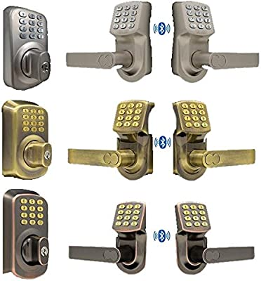 Code-a-Key Netbolt Smart Lock - Sistema de cerradura para puerta ...