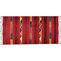 Handwoven Egyptian Tribal Kilim Rug – 100% Wool – Handmade Runner Kilim Rug with Bright, Vivid Colors – Made by CraftsOfEgypt