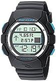 Rip Curl Men's Quartz Plastic and Polyurethane Sport Watch, Color:Black (Model: A1133CHA1SZ)