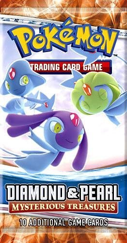 - Pokemon Diamond & Pearl II Mysterious Treasures Booster Pack [Toy]