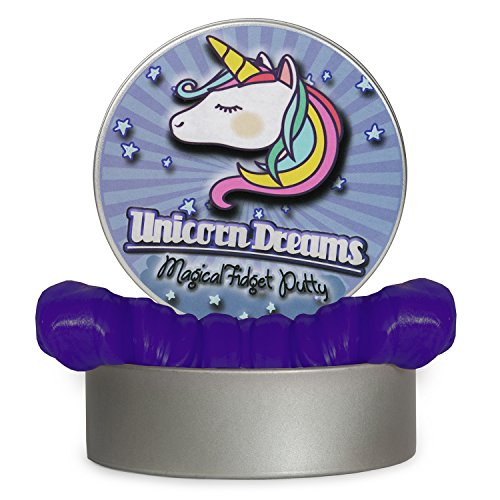 Unicorn Dreams Magical Fidget Putty – Stress Relief Unicorn Gifts Fun Gag Gifts for Friends BFF Gifts Stocking Stuffers for Girls Secret Santa Gifts for Women Thoughtful Gifts for Women Unicorn Toys