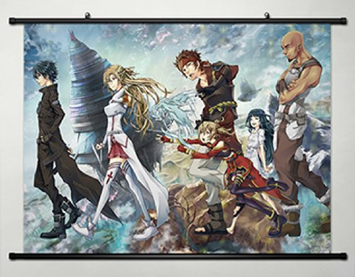 Home Decor Anime Sword Art Online Cosplay Wall Scroll Poster 23.6 X 17.7 Inches-102 (Cosplay Shop Online)