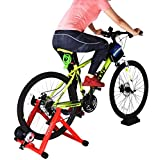8 Levels Magnetic Resistance Indoor Bike Trainer,Fits 26-28 inch 700c...