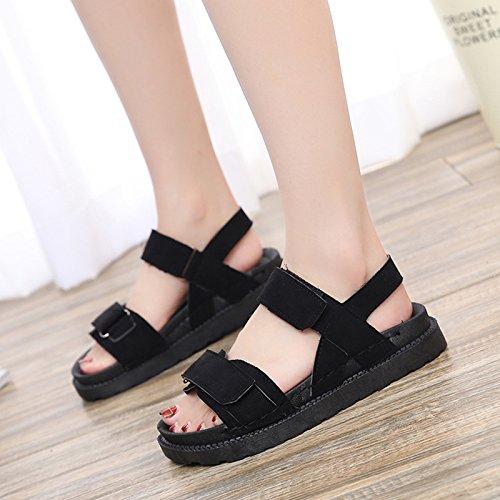 Toe Señoras de Toe de Casual Sandalias la en Plano Fondo Zapatos de YMFIE Pink Moda Verano Playa Deportivo Sxw6q6F