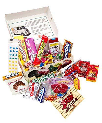 1950s Decade Candy Gift Box