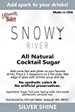 Snowy River Cocktail Sugar Silver Shine (Large Crystal)