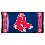 MLB Boston Red Sox 30 by 60 Fiber Reactive Beach Towel