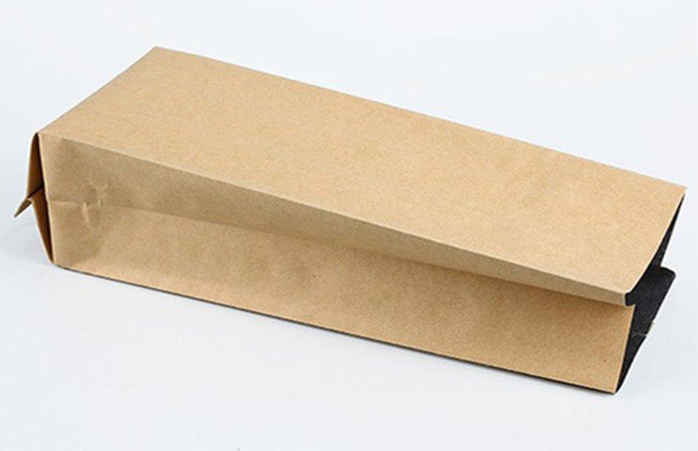 outflower 50pcs Bolsa de papel Kraft bolsas de comida bolsas de frutas s/éch/és bolsas de t/é