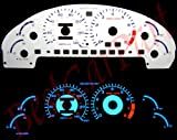 93-97 Ford Probe GT V6 WHITE FACE GLOW GAUGES