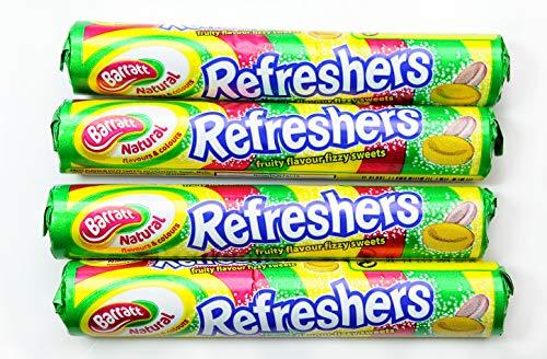 Refreshers – 48 Box Sweets Gummy Retro Candy Bubblegum