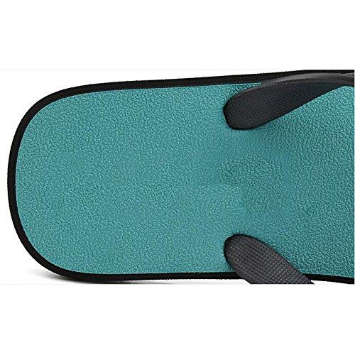 XIAOLIN Zapatillas para hombre Sandalias al aire libre antideslizantes de verano Sandalias para hombre de goma casual Trend (Una variedad de colores para elegir) (Tamaño opcional) ( Color : 01 , Tamañ 01