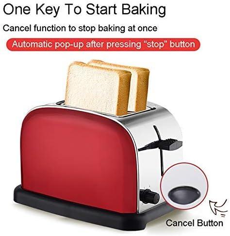 Stainless Steel broodbakmachine, volautomatische Huis 2 Piece Ontbijtkoek Toast Sandwich Electric Broodrooster xiao1230