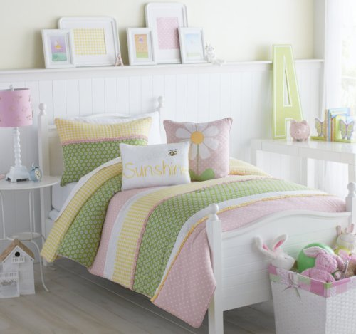UPC 735732836268, VCNY Lazy Daisy Crib Set
