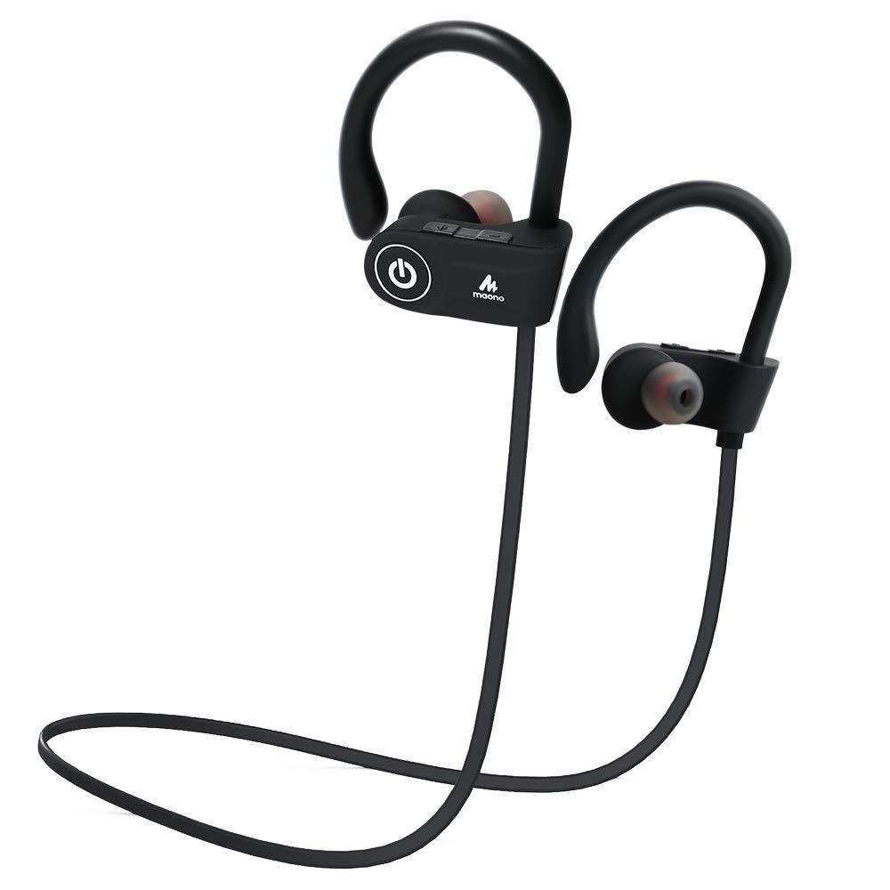 Maono AU-D20X Sports Wireless Bluetooth Earphones with Mic (Black)