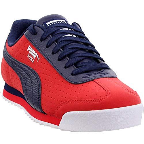 (PUMA Mens Roma Perf XTG Casual Shoes Red 14)