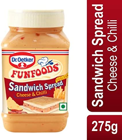 Funfoods Dr. Oetker Spread CheeseChilliEL, 275g