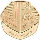 Bitcoin 2014 Titan 1oz Gold Coloured Copper  999 Medal