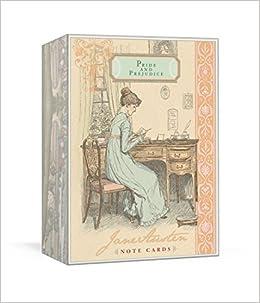 Jane Austen Note Cards. Pride And Prejudice: Amazon.es ...