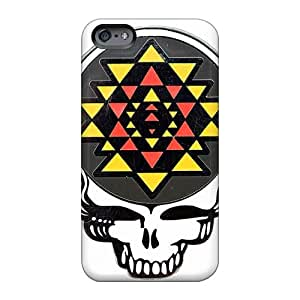 MarieFrancePitre Iphone 6 Great Cell-phone Hard Cover Provide Private Custom Colorful Grateful Dead Band Skin [CyH11153odra]