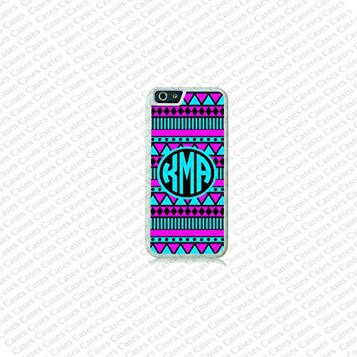 Krezy Case Aztec Pattern Monogram iPhone 6 Case, Monogram iPhone 6 Cover, Custom iPhone 6 Cases, Cute monogram...