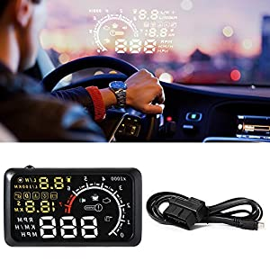 XCSOURCE X3 Head Up Display Voiture OBD II Version Bluetooth