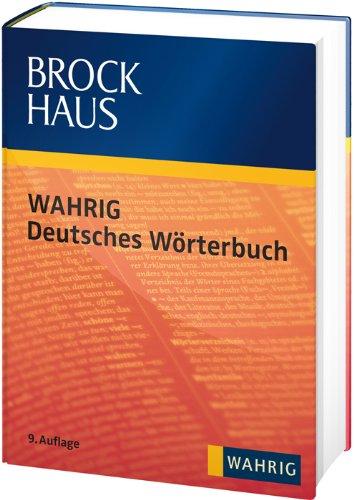 Brockhaus WAHRIG Deutsches Wörterbuch (mit DVD)