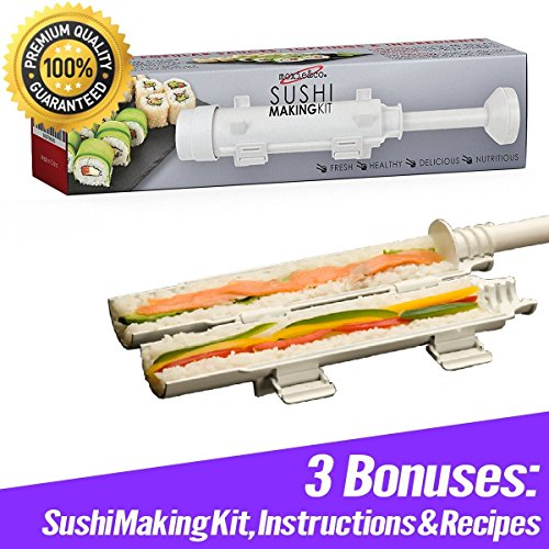 moxie&co. Sushi Making Kit for Sushi Rolls - Perfect Roll...