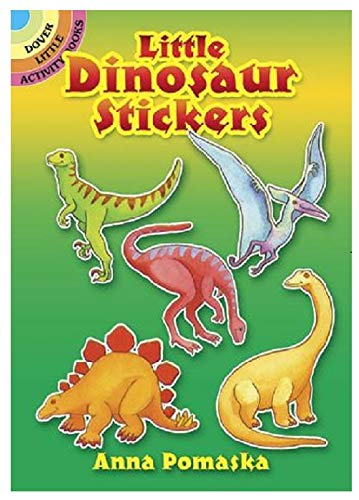 Little Dinosaur Stickers (Dover Little Activity Books Stickers) -