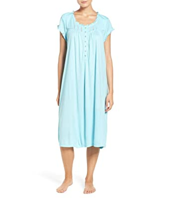 Eileen West Women s Modal Short Sleeve Waltz Nightgown (Small fe60c8b94