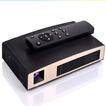 Dean - Proyector Smart WeChat, proyector portátil Home Theater LED ...