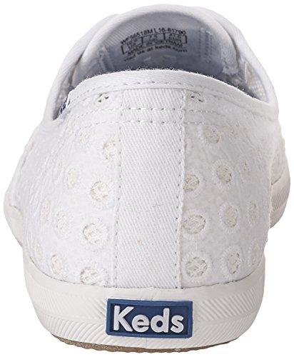 Sneaker Di Moda Maglia Mini Occhielli Chillax Keds Donna Bianca