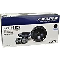 Alpine SPJ-161CS 2-WAY Car Audtio Component Speaker System, 6
