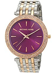 Michael Kors MK3353 Ladies Darci Two Tone Watch