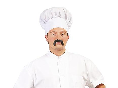 Guirca Sl-13011 Cappello da Cuoco in Tessuto Copricapo Chef Adulto ... 39fcaac9c1ed